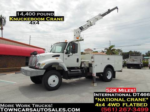 2004 International 7300 for sale in West Palm Beach, FL
