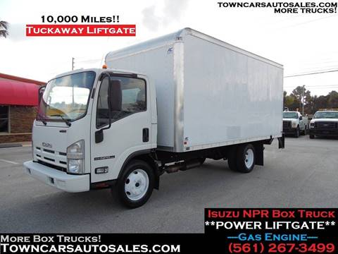 Truck Box For Sale >> 2015 Isuzu Npr For Sale In West Palm Beach Fl