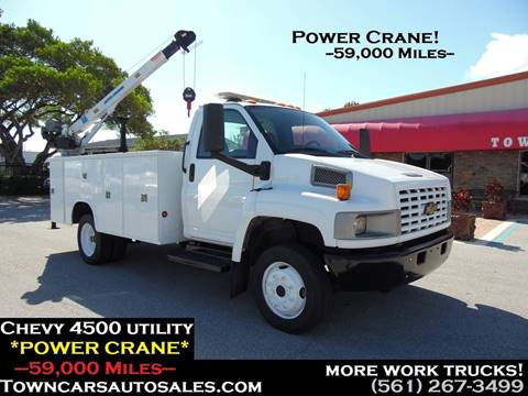 2007 Chevrolet C4500 for sale in West Palm Beach, FL