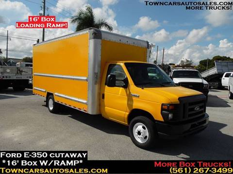 2016 Ford E-350 for sale at Town Cars Auto Sales in West Palm Beach FL