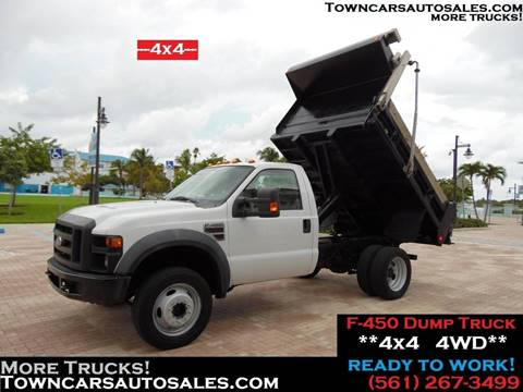 2008 Ford F-450 for sale in West Palm Beach, FL