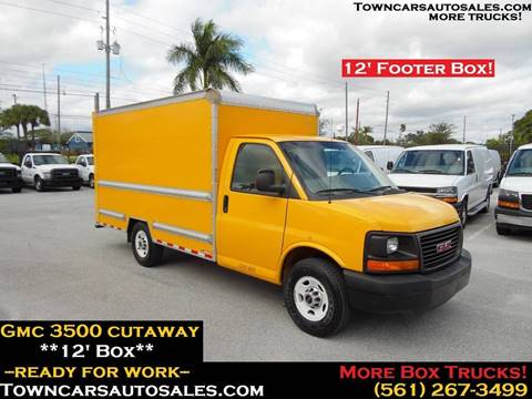 2015 GMC Savana Cutaway for sale in West Palm Beach, FL
