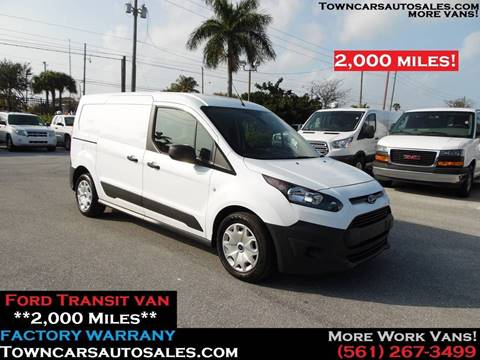 2017 Ford Transit Connect for sale at Town Cars Auto Sales in West Palm Beach FL