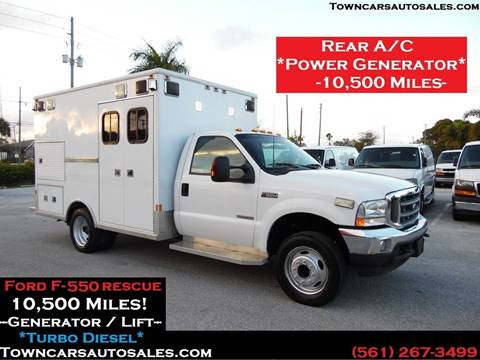 2003 Ford F-550 for sale at Town Cars Auto Sales in West Palm Beach FL