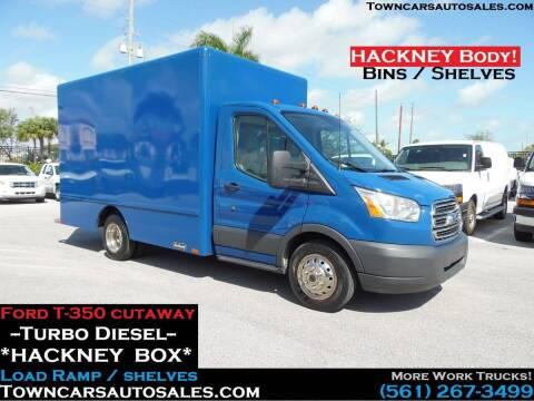 2016 Ford Transit Cutaway for sale at Town Cars Auto Sales in West Palm Beach FL