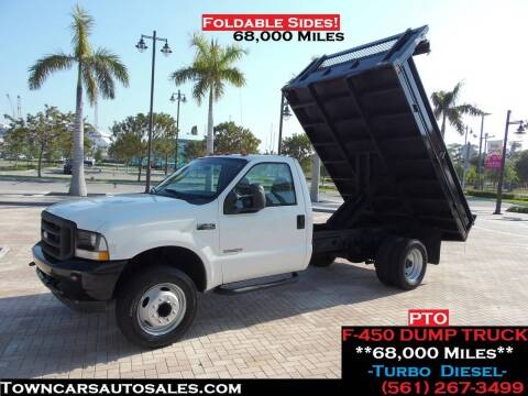 2003 Ford F-450 for sale at Town Cars Auto Sales in West Palm Beach FL