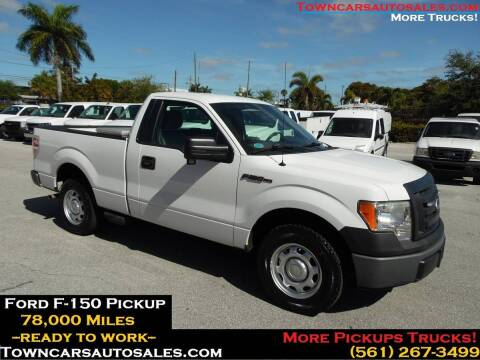 2010 Ford F-150 for sale at Town Cars Auto Sales in West Palm Beach FL