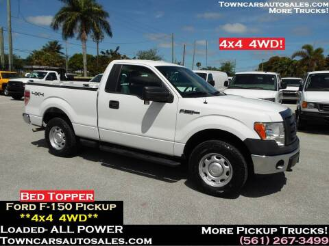 2012 Ford F-150 for sale at Town Cars Auto Sales in West Palm Beach FL