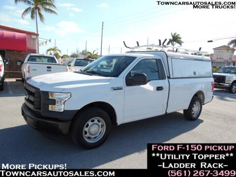 2016 Ford F-150 XL for sale at Town Cars Auto Sales in West Palm Beach FL