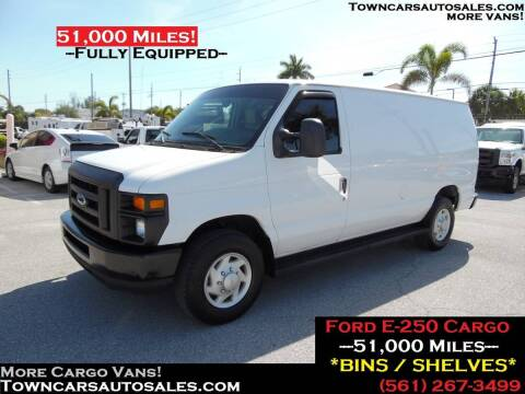 2009 Ford E-250 for sale at Town Cars Auto Sales in West Palm Beach FL