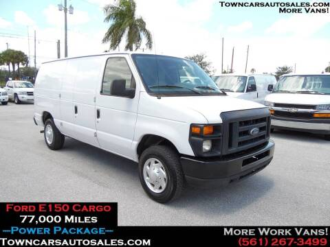 2012 Ford E-150 for sale at Town Cars Auto Sales in West Palm Beach FL