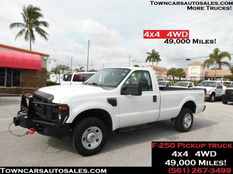 2009 Ford F-250 for sale at Town Cars Auto Sales in West Palm Beach FL