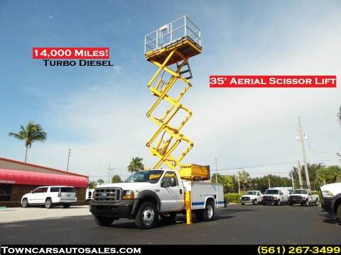2006 Ford F-450 Super Duty for sale at Town Cars Auto Sales in West Palm Beach FL