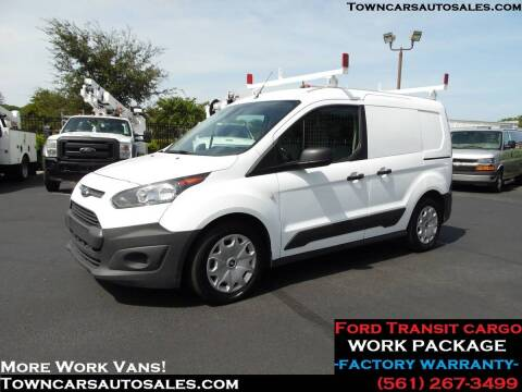 2018 Ford Transit Connect for sale at Town Cars Auto Sales in West Palm Beach FL