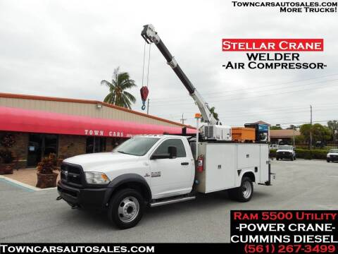 2015 RAM Ram Chassis 5500 for sale at Town Cars Auto Sales in West Palm Beach FL