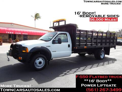 2006 Ford F-550 for sale at Town Cars Auto Sales in West Palm Beach FL
