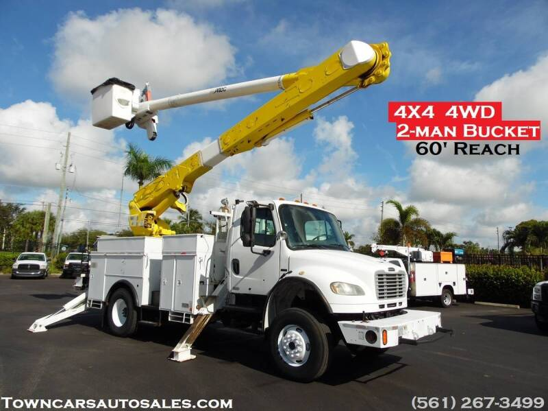 2007 Freightliner M2 106 for sale at Town Cars Auto Sales in West Palm Beach FL