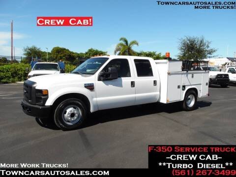 2008 Ford F-350 Super Duty for sale at Town Cars Auto Sales in West Palm Beach FL
