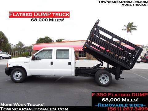 2007 Ford F-350 for sale at Town Cars Auto Sales in West Palm Beach FL