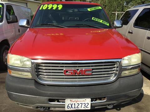 2002 GMC Sierra 2500HD for sale in Visalia, CA