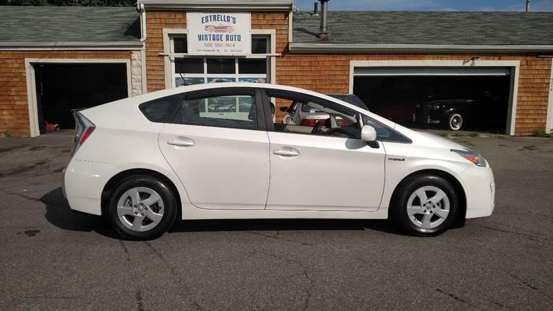 2011 Toyota Prius for sale at Estrellas Vintage Auto in South Dartmouth MA
