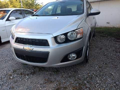 2012 Chevrolet Sonic for sale in Ringgold, GA