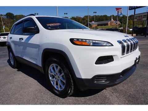 2016 Jeep Cherokee for sale in Clarksville, TN