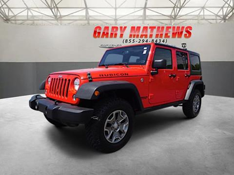 2016 Jeep Wrangler Unlimited for sale in Clarksville, TN