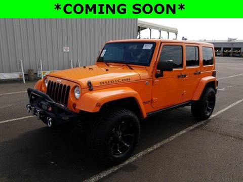 2012 Jeep Wrangler Unlimited for sale in Clarksville, TN