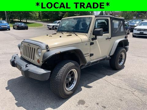 2012 Jeep Wrangler for sale in Clarksville, TN