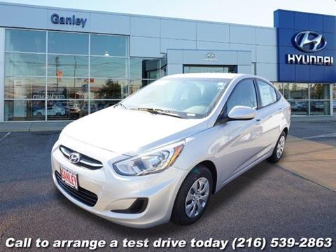 2017 Hyundai Accent for sale in Cleveland, OH