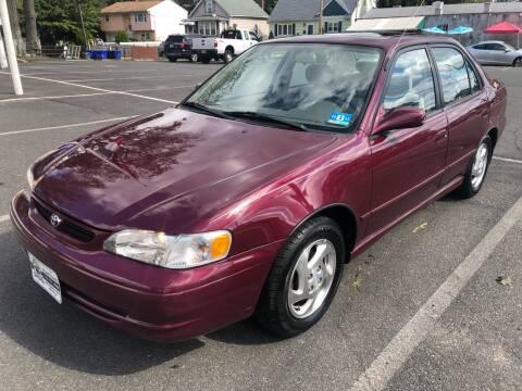 1998 Toyota Corolla for sale at EZ Auto Sales , Inc in Edison NJ