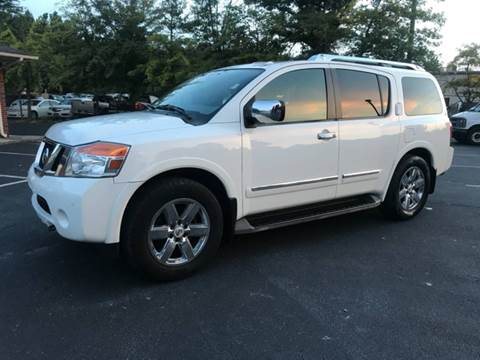 2010 Nissan Armada for sale at GTO United Auto Sales LLC in Lawrenceville GA