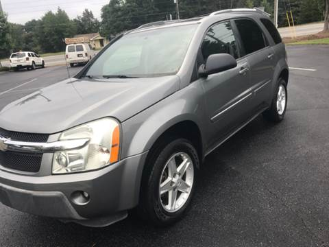 2005 Chevrolet Equinox for sale at GTO United Auto Sales LLC in Lawrenceville GA
