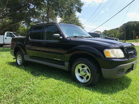 2002 Ford Explorer Sport Trac for sale at GTO United Auto Sales LLC in Lawrenceville GA