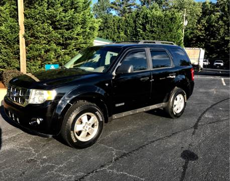 2008 Ford Escape for sale at GTO United Auto Sales LLC in Lawrenceville GA