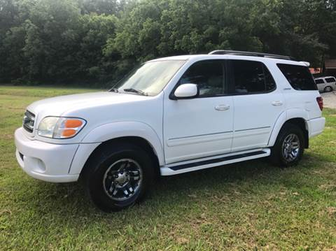 2003 Toyota Sequoia for sale at GTO United Auto Sales LLC in Lawrenceville GA