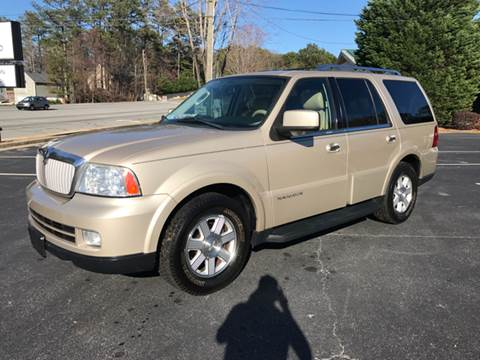 2006 Lincoln Navigator for sale at GTO United Auto Sales LLC in Lawrenceville GA