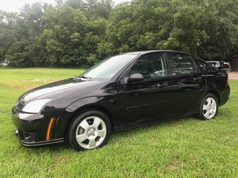 2007 Ford Focus for sale at GTO United Auto Sales LLC in Lawrenceville GA
