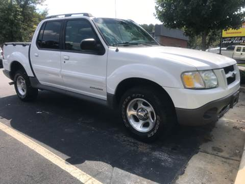 2001 Ford Explorer Sport Trac for sale at GTO United Auto Sales LLC in Lawrenceville GA
