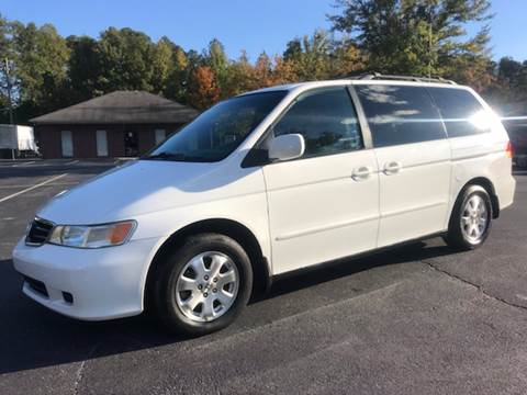 2004 Honda Odyssey for sale at GTO United Auto Sales LLC in Lawrenceville GA