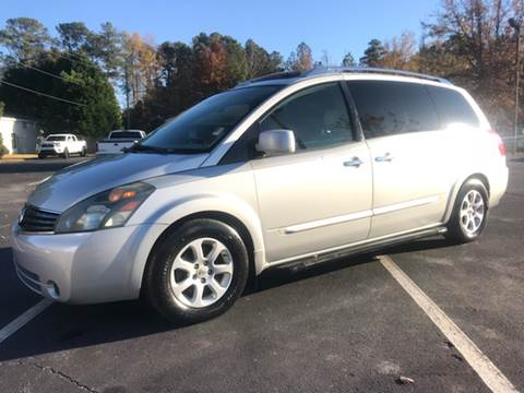2007 Nissan Quest for sale at GTO United Auto Sales LLC in Lawrenceville GA