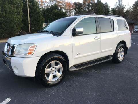 2005 Nissan Armada for sale at GTO United Auto Sales LLC in Lawrenceville GA