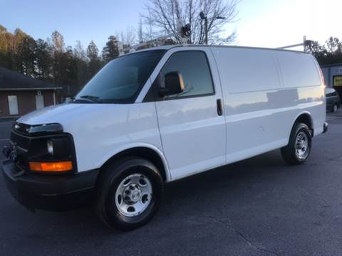 2009 Chevrolet Express Cargo for sale at GTO United Auto Sales LLC in Lawrenceville GA
