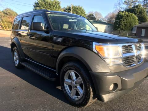 2007 Dodge Nitro for sale at GTO United Auto Sales LLC in Lawrenceville GA