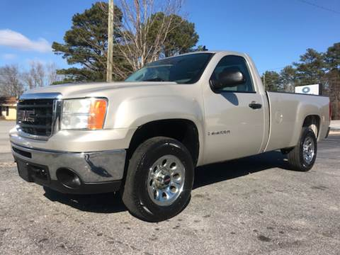 2009 GMC Sierra 1500 for sale at GTO United Auto Sales LLC in Lawrenceville GA