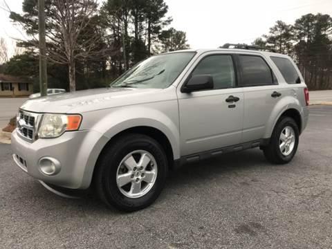 2009 Ford Escape for sale at GTO United Auto Sales LLC in Lawrenceville GA
