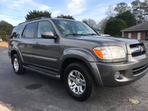 2005 Toyota Sequoia for sale at GTO United Auto Sales LLC in Lawrenceville GA
