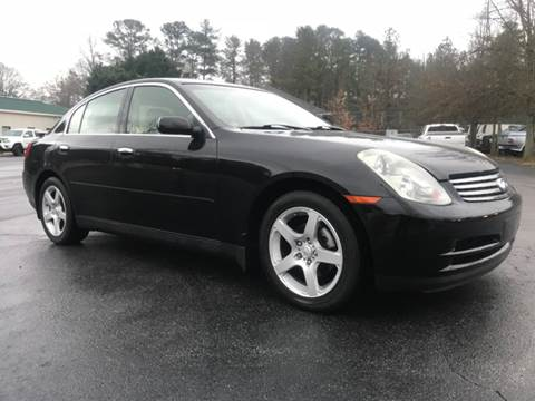 2004 Infiniti G35 for sale at GTO United Auto Sales LLC in Lawrenceville GA