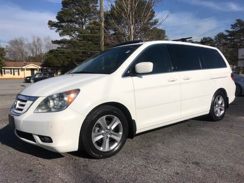 2008 Honda Odyssey for sale at GTO United Auto Sales LLC in Lawrenceville GA
